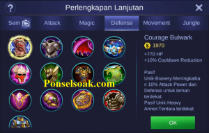 Build Gear Tigreal Mobile Legends 5