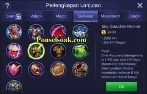 Build Gear Uranus Mobile Legends 6