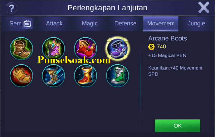 Build Gear Valir Mobile Legends 1