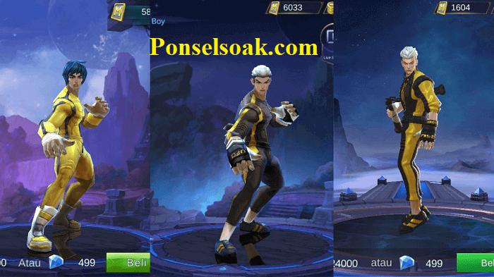 Build Chou Mobile Legends Tersakit