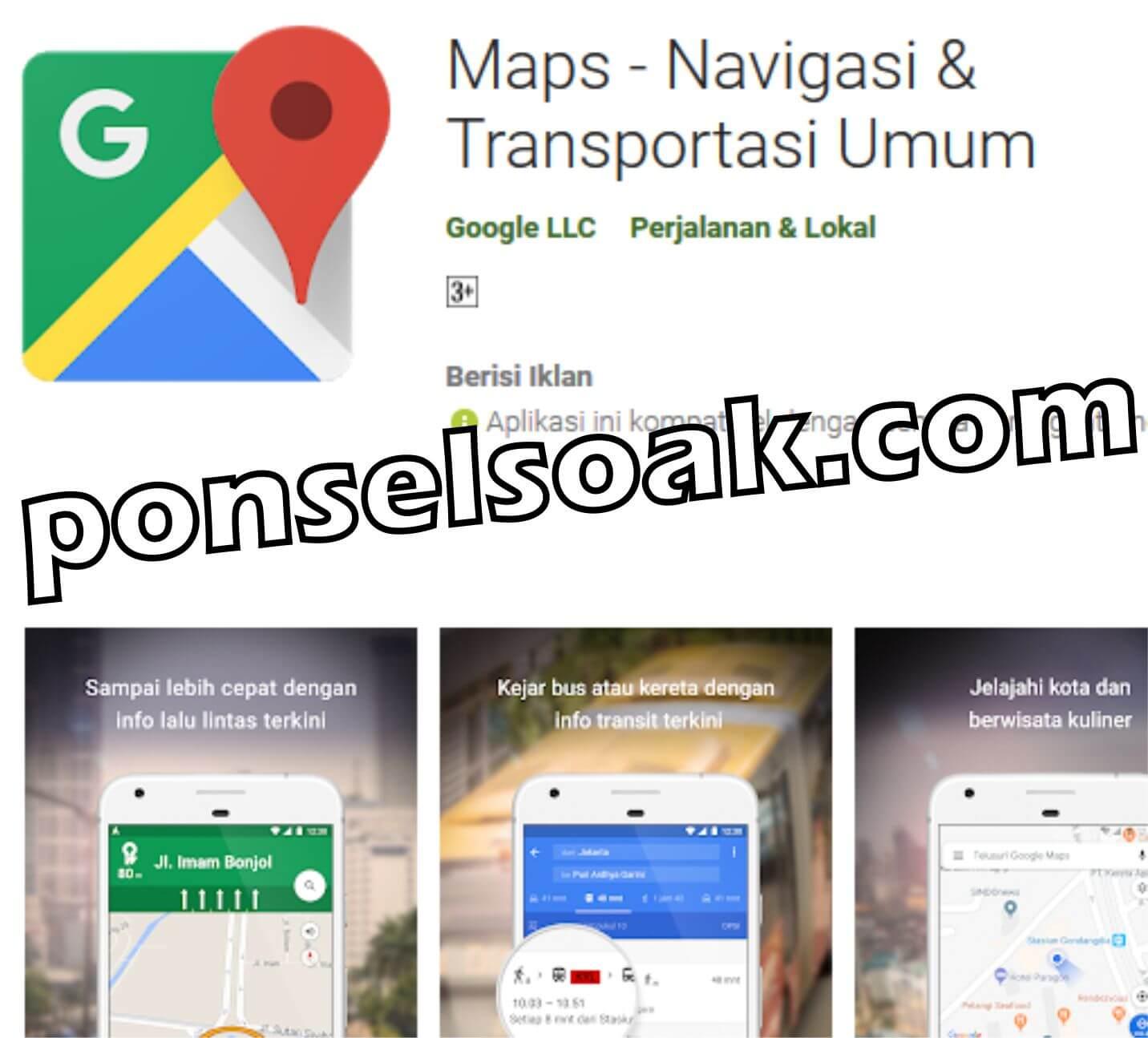 Cara Menentukan Rute Peta Jalur & Jam Ganjil Genap Di Google Maps
