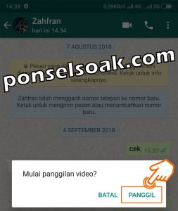 Cara Video Call Group WhatsApp 3