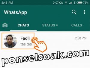 Cara Video Call Lebih Dari 2 Orang Di WhatsApp 1