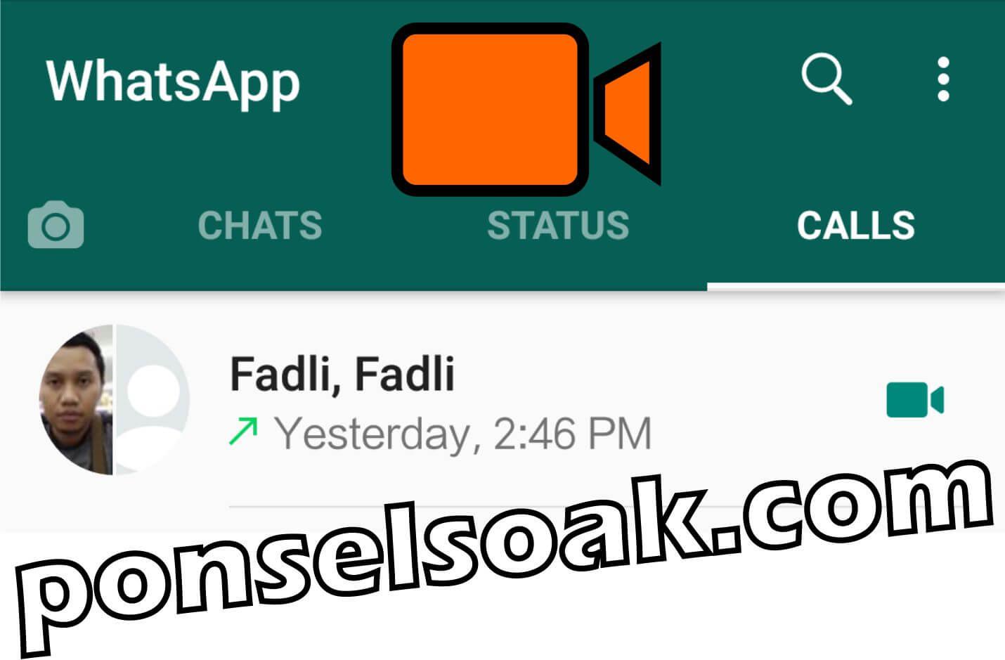 Cara Video Call Lebih Dari 2 Orang Di WhatsApp