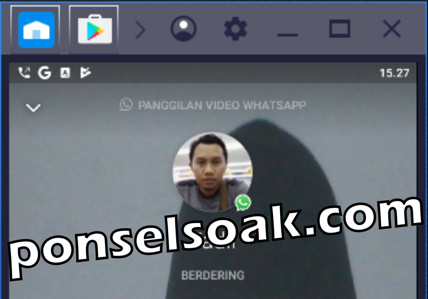 Cara Video Call WhatsApp di PC