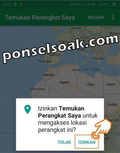 Melacak HP Android Hilang Lewat Internet Dengan Email GPS IMEI 26
