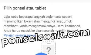 Melacak HP Android Hilang Lewat Internet Dengan Email GPS IMEI