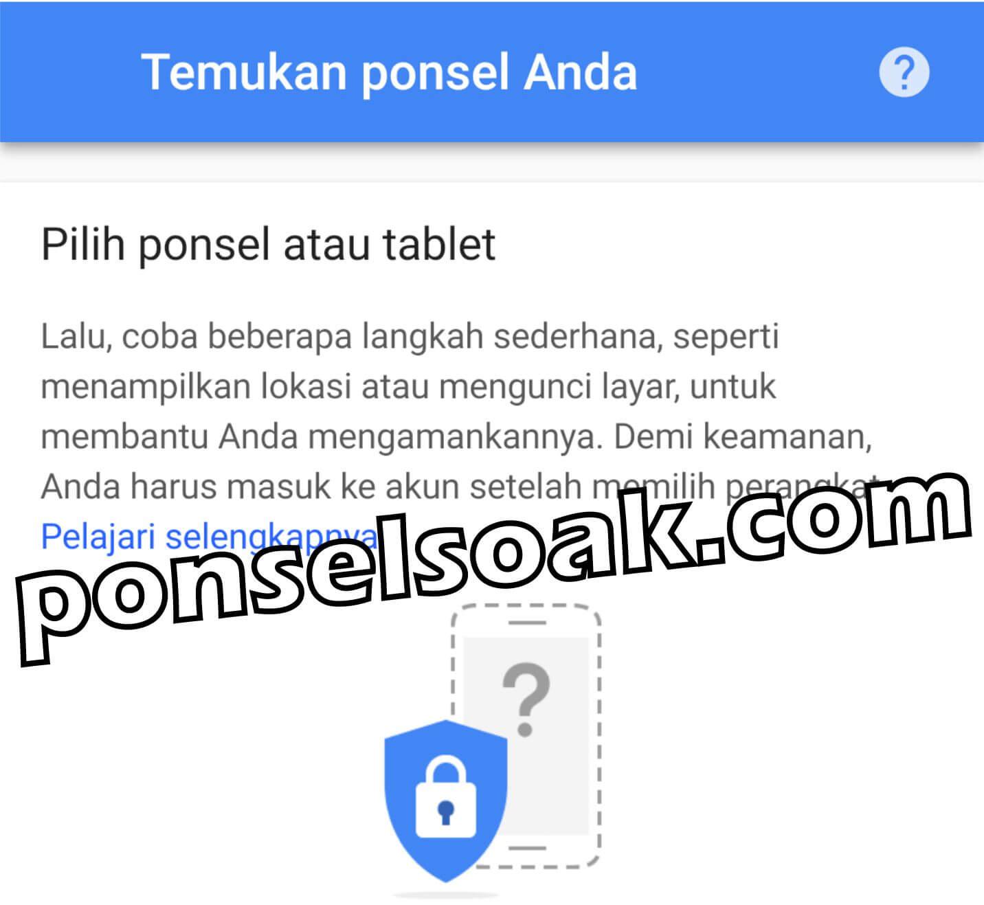 Cara Melacak HP Android Hilang [Lengkap]