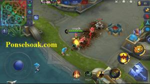 Skill 1 Gatotkaca Blast Iron Fist