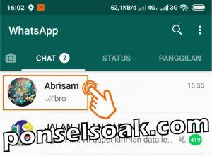 Cara Kirim Pesan Di WhatsApp 3