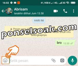 Cara Kirim Pesan Di WhatsApp 4