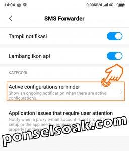Cara Menyebunyikan Notifikasi Dan Aplikasi SMS Forwader 4