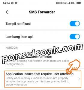 Cara Menyebunyikan Notifikasi Dan Aplikasi SMS Forwader 6