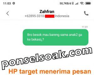 Cara sadap dengan aplikasi SMS Forwader 16 b