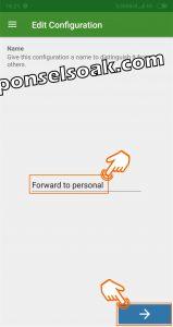 Cara sadap dengan aplikasi SMS Forwader 3