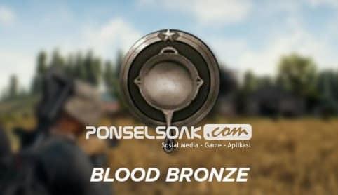 Jenis jenis RankingPangkat dalam Game PUBG Mobile Blood Bronze Bronze