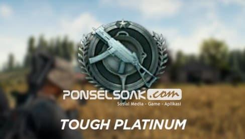 Jenis jenis RankingPangkat dalam Game PUBG Mobile Tough Platinum Platinum
