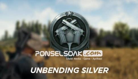 Jenis jenis RankingPangkat dalam Game PUBG Mobile Unbending Silver Silver