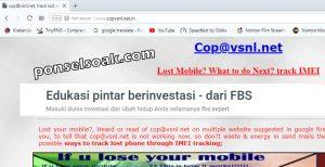 Melacak HP Android Hilang Lewat Internet Dengan Email GPS IMEI 67