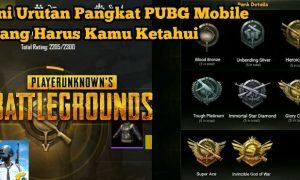 Pangkat di PUBG Mobile