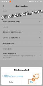 Cara Backup Kontak Ke Gmail 10