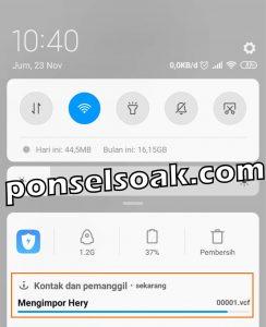 Cara Backup Kontak Ke Gmail 11