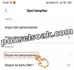Cara Backup Kontak Ke Gmail 5