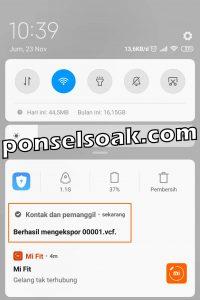 Cara Backup Kontak Ke Gmail 7