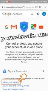 Cara Mengganti Merubah Password Gmail 20