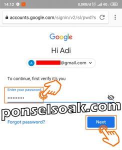 Cara Mengganti Merubah Password Gmail 22