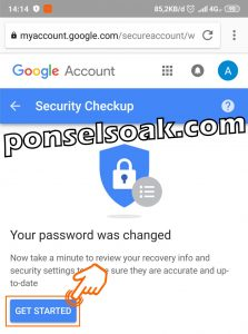 Cara Mengganti Merubah Password Gmail 24