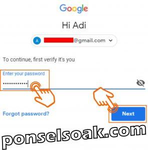 Cara Menghapus AKun Gmail Di HP dan Laptop 8