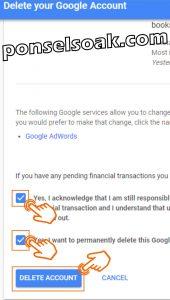 Cara Menghapus AKun Gmail Di HP dan Laptop 9