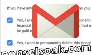 Cara Menghapus Akun Gmail DI HP Dan Laptop