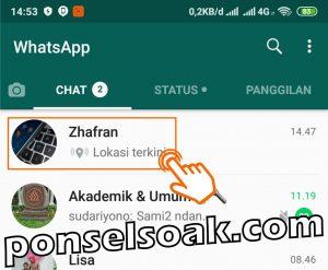 Cara Melacak HP Hilang Lewat WhatsApp 1