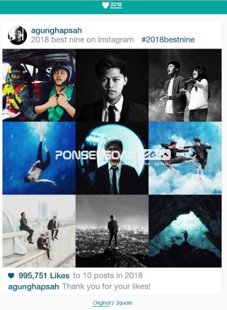 Menjelang penghujung akhir tahun sebagai seorang penggiat sosial media khususnya  Cara Mudah Membuat Best Nine Instagram Terbaru