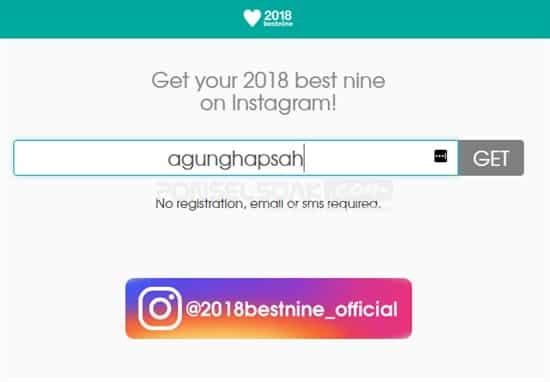 Cara Membuat Best Nine 2018