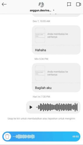 terus mengeluarkan inovasi dan fitur terbaru mereka Cara Mengirim Voice Note di Instagram