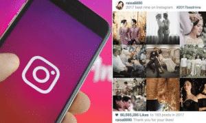 Cara Mudah Membuat Best Nine 2018 Instagram Tanpa Aplikasi