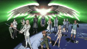 Anime Mecha Genesis Of Aquarion
