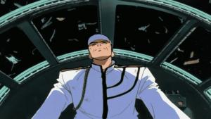 Anime Mecha Top We Nerae Gunbuster