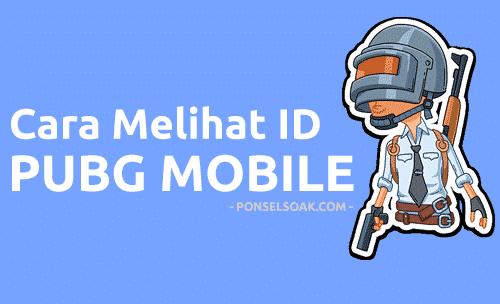 Cara Melihat ID PUBG Mobile