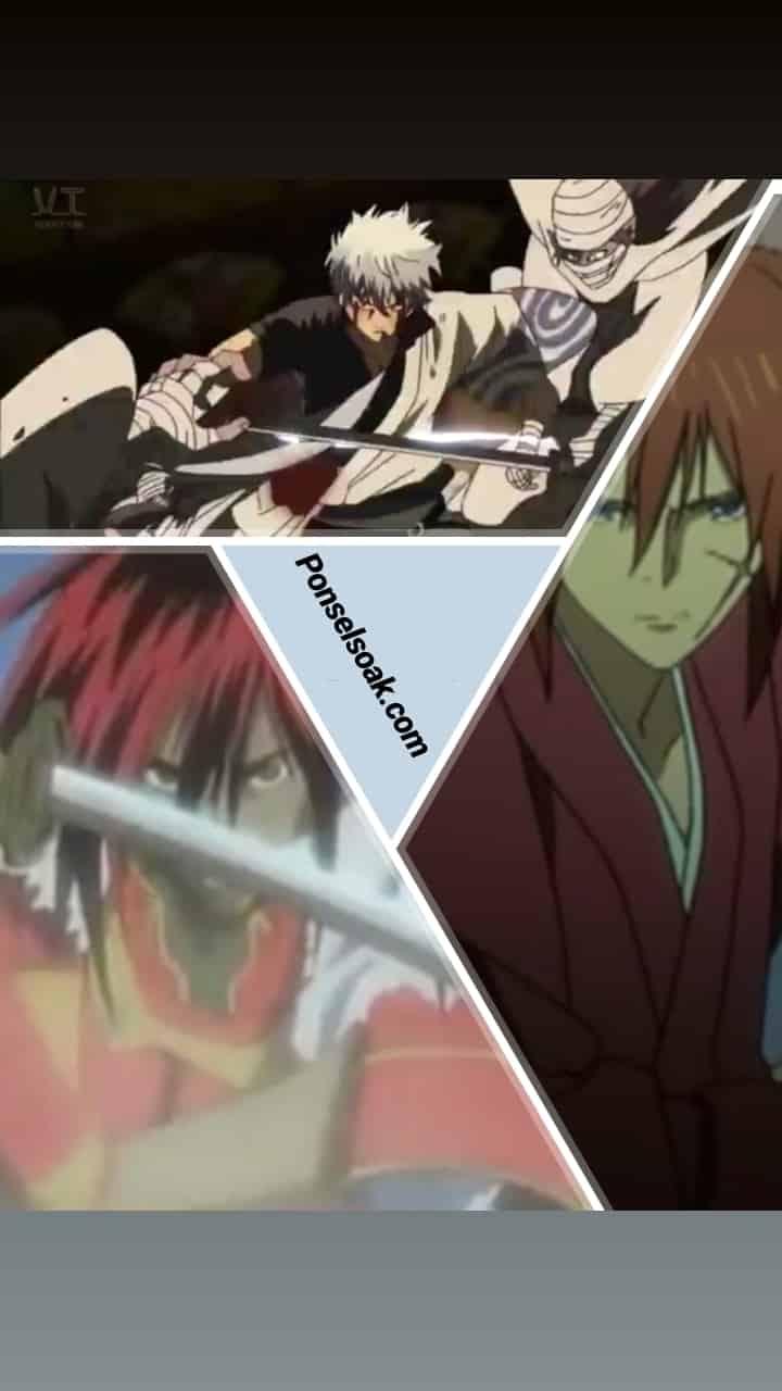 30 Daftar Rekomendasi Nonton Anime Samurai Pedang Terbaik