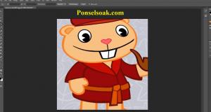Cara Memotong Gambar Di Photoshop 10
