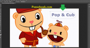 Cara Memotong Gambar Di Photoshop 14