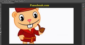 Cara Memotong Gambar Di Photoshop 16