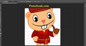 Cara Memotong Gambar Di Photoshop 17