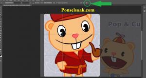 Cara Memotong Gambar Di Photoshop 4