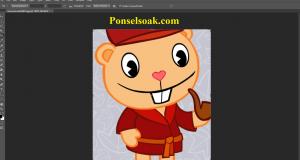 Cara Memotong Gambar Di Photoshop 5