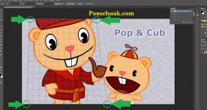 Cara Memotong Gambar Di Photoshop 6